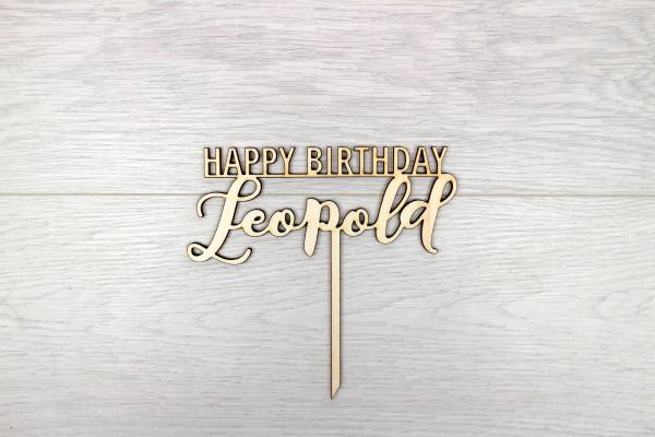 "Happy Birthday + ""Name"""